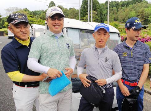 ●社内ゴルフコンペ